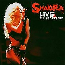 Live And Off The Record (CD + DVD) von Shakira | CD | Zustand sehr gut