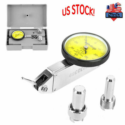 20 inch Magnetic Base Stand Holder With Yellow-face Dial Test Indicator Gauge US