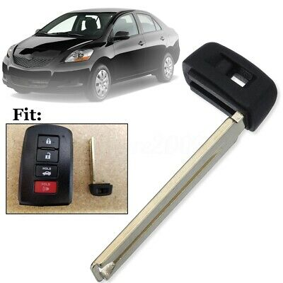 Uncut Emergency Smart Prox Remote Key Blade Blank Insert Replacement For Toyota