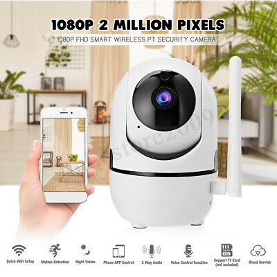 1080P 2MP Wireless Wifi Security Camera Night Vision Baby Monitor for Alexa echo