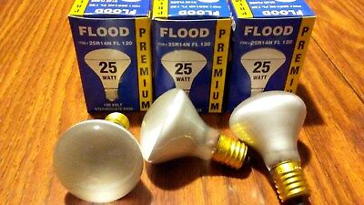 Pack of 3, LAVA Replacement PREMIUM Light Bulb Lamp 25W watt 25R14/N 120V