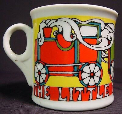Vintage Porcelain Childrens Drinking Mug The Little Train That Could