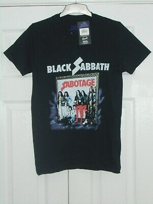 BLACK SABBATH Sabotage Vintage T-shirt Small NEW Official Merchandise Ozzy