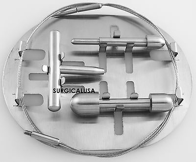 Nabatoff Vein Stripper Set with Cassette Tray NEW Surgical Instruments