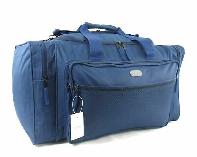 "22""Travel Holdall Luggage Carry Cargo Weekend Business Lightweight Cabin Gym Bag"