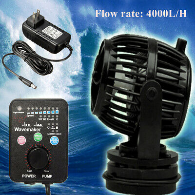 Jebao Jecod RW4 Controllable Wave Maker Reef Powerhead Aquarium Fish Pump new