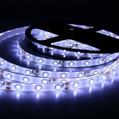 5M 300 3528 LED Strip Streifen Band Leiste Lichterkette Kaltweiß 12V Roll IP20