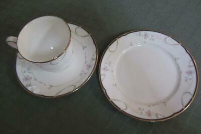 Lenox ~ Constance Pattern  ~  Tea Cup, Saucer and Side Plate