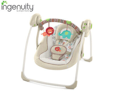 Ingenuity Cozy Kingdom Portable Swing Baby/Infant Rocking Chair/Music/Toy