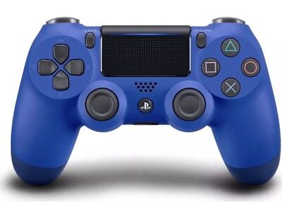 Dualshock 4 V2 Wireless Controller For Ps4 - Wave Blue