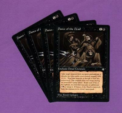 4x Magic the Gathering Dance of the Dead Ice Age