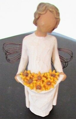 Willow Tree hand-painted sculpted angel, Sunshine