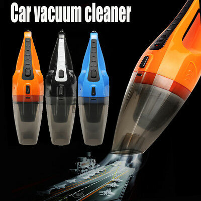 12V 120W Car Vacuum Portable Wet And Dry Dust Handheld Cleaner Strong Suction