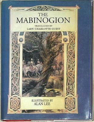 THE MABINOGION ~ TRANSLATED LADY CHARLOTTE GUEST ~ ILLUS ALAN LEE ~ 1st PRINT HC