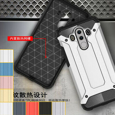 Shockproof Rugged Bumper Protective Case Hybrid Armor For Huawei Mate 10 9 Pro