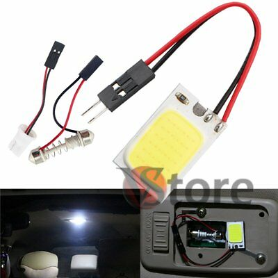 LED Lamp T10 Siluro Panel White Inner Car Lights Courtesy Cob 18 Chip