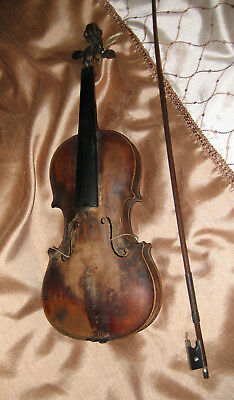 ANTIQUE Ole Bull FIDDLE Violin & Case Early-1900s Musical String Instrument USA