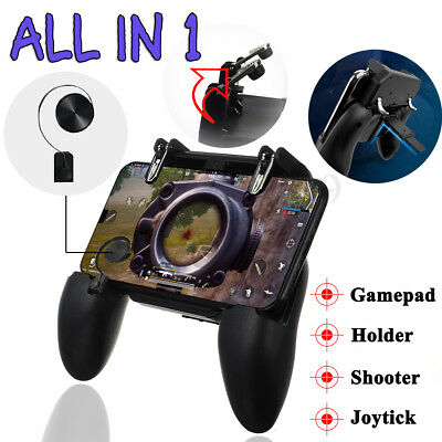 Mobile Game Controller Joystick Trigger Gamepad Fire Button for Android IOS PUBG