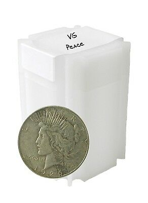 1922-1926 Silver Peace Dollar VG+ Lot of 10 S$1 Coins
