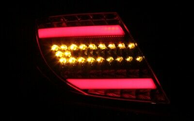 Led Bar Rückleuchten Mercedes Benz W204 Led Blinker Rot Schwarz Smoke Lightbar Q