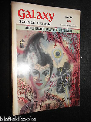 GALAXY MAGAZINE: Vintage Science Fiction Short Stories - c1950s - Alfred Bester