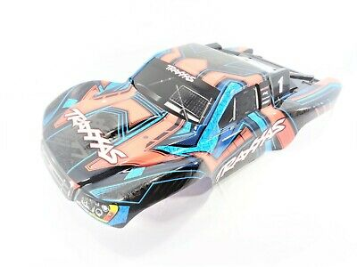 GREEN /& Blue Cover Shell decals Traxxas 68077-4 Slash 4x4 ULTIMATE BODY Shell