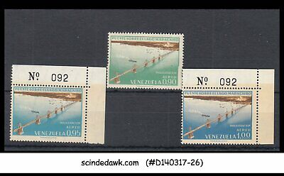 Venezuela - 1963 Bridge Over Lake Maracaibo - 3V - Mint Nh