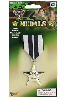Military Medals Army Hero  Fancy Dress