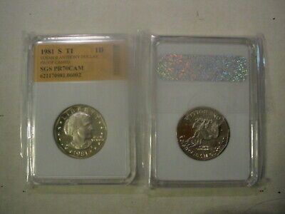 1981 Susan B Anthony S Dollar Type 1 - Perfect Proof