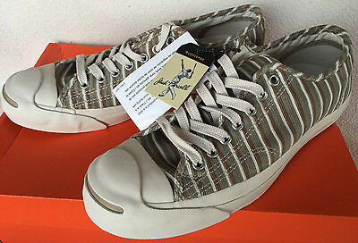10481430965654 Converse Jack Purcell Signature Sneaker Stripes Tennis Shoes Men s 8 New  Zoom Zm