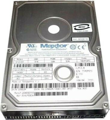 MAXTOR 5T010H1 DOWNLOAD DRIVERS