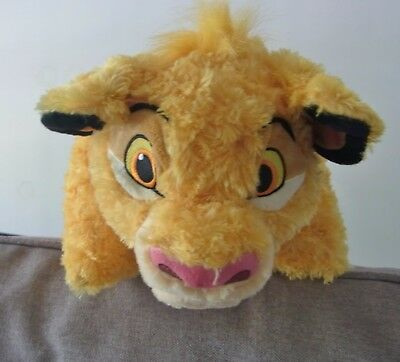 Disney Simba Pillow Pal Plush Friend Lion King Parks World Disneyland