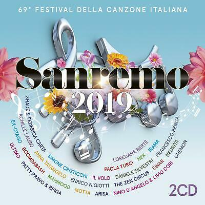 Audio Cd Sanremo 2019 (2 Cd)