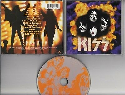 KISS You Wanted The Best You Got The Best 1996 CD GERMANY PMDC MERCURY MINT