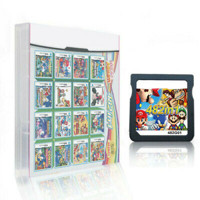 482 in 1 Game Cartridge for NDS NDSL 2DS 3DS NDSI Game Card Children Kids Gift