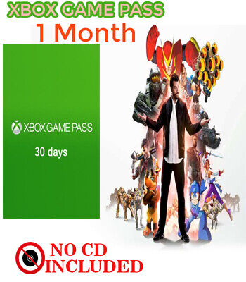 Xbox Game Pass - 30 Days Trial Xbox One Cd Key 1Month