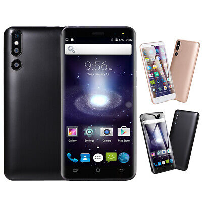 "3G 5"" Android 6.0 Mobile Smart Phone Cheap Unlocked Quad Core Dual SIM GPS WiFi"