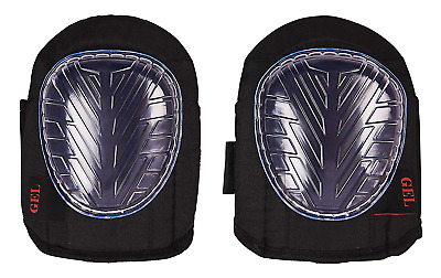Amtech N2560 Gel Knee Pads, Black