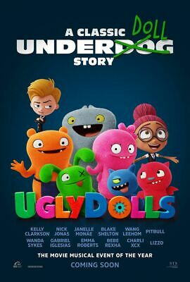 Ugly Dolls - original DS movie poster 27x40 D/S - FINAL