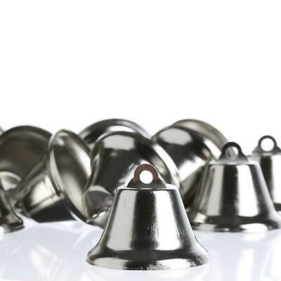 Package of Miniature Shiny Metal Liberty Bells for Crafting, Designing and Decor