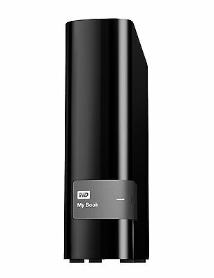 Western Digital 4TB My Book USB 3.0 Local and Cloud Back Up External Hard Drive