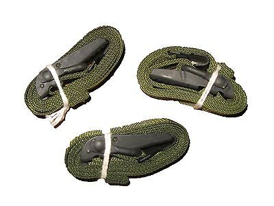 """LOT OF 3 US Military ALICE CARGO AUTOMOBILE STRAP Pack Lashing Metal OD 52"""" NEW"""