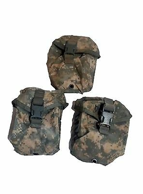 LOT OF 3 Military Surplus ARMY ACU IFAK MOLLE POUCH Utility Case WITH INSERTS