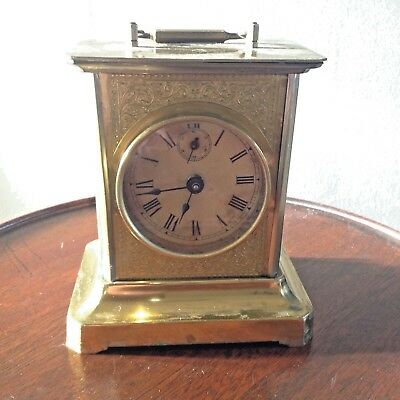 Antique Musical Carriage Style Alarm Clock