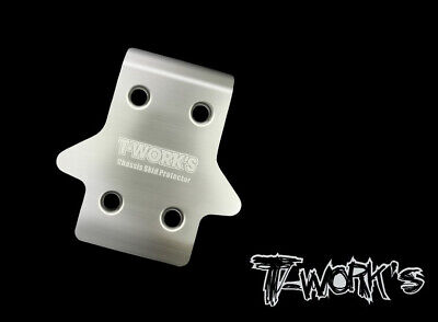 T-Works Skid Plate Anteriore in Acciaio per Mugen MBX8 (1) - TO-235-MBX8