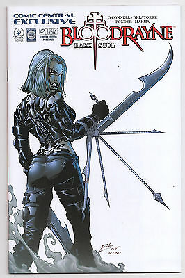 Bloodrayne Dark Soul 1 NM+ Comic Central  Exclusive Edition 750 Variant Comic