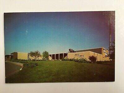 KOLN-TV/KGIN-TV Station Building in Lincoln, NEBRASKA Vintage Chrome Postcard