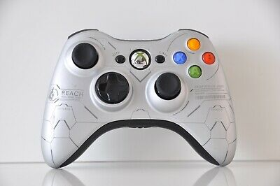 Official Microsoft xbox 360 Wireless Controller Halo Reach Edition