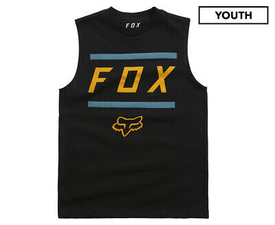 Fox Kids' Youth Listless Muscle Tee - Black