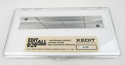 EDITALL S-3D Splicing Block for 1/4in Audio Tape - New, Free Shipping